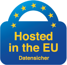 Datensicher, Hosted in the EU